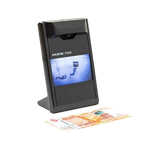 Детектор банкнот DORS 1000 M3 (черный)