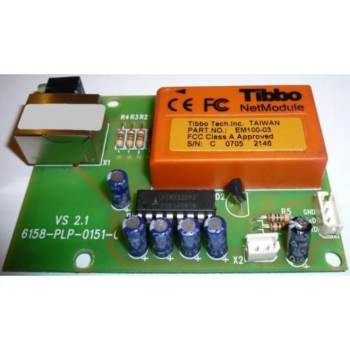 Порт TCP-IP для LP TIBBO