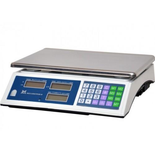 Весы торговые электронные ВР4900-15-2Д-АБ 02 АКБ