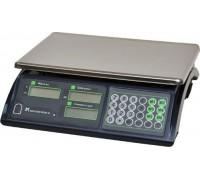 Весы торговые электронные ВР4900-15-2Д-АБ 10 АКБ