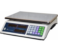 Весы торговые электронные ВР4900-15-2Д-ДБ 02 АКБ