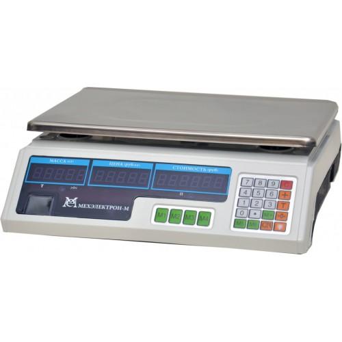 Весы торговые электронные ВР4900-15-2Д-ДБ 06 АКБ