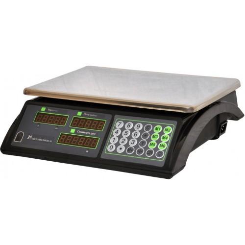 Весы торговые электронные ВР4900-15-2Д-ДБ 10 АКБ