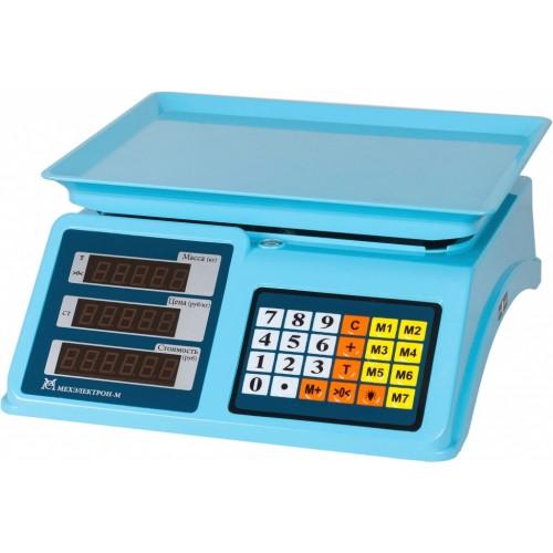Весы торговые электронные ВР4900-15-2Д-ДБ 14 АКБ
