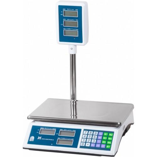 Весы торговые электронные ВР4900-15-2Д-САБ 01 АКБ