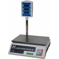 Весы торговые электронные ВР4900-15-2Д-САБ 05 АКБ