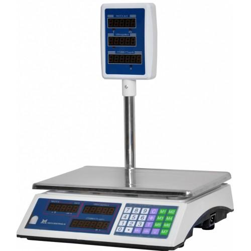 Весы торговые электронные ВР4900-15-2Д-СДБ 01 АКБ