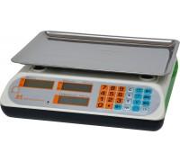 Весы торговые электронные ВР4900-30-2Д-АБ 12 АКБ