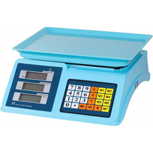 Весы торговые электронные ВР4900-30-2Д-АБ 14 АКБ