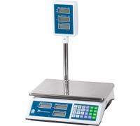 Весы торговые электронные ВР4900-30-2Д-САБ 01 АКБ