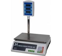 Весы торговые электронные ВР4900-30-2Д-САБ 05 АКБ