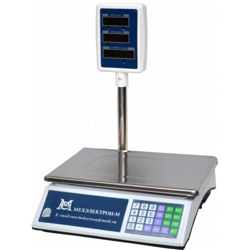 Весы торговые электронные ВР4900-30-2Д-СДБ 01М АКБ