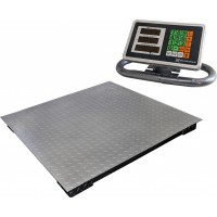 Весы торговые электронные ВЭТ-1-1000П-1С-ДБР (1,2м*1,2м) АКБ