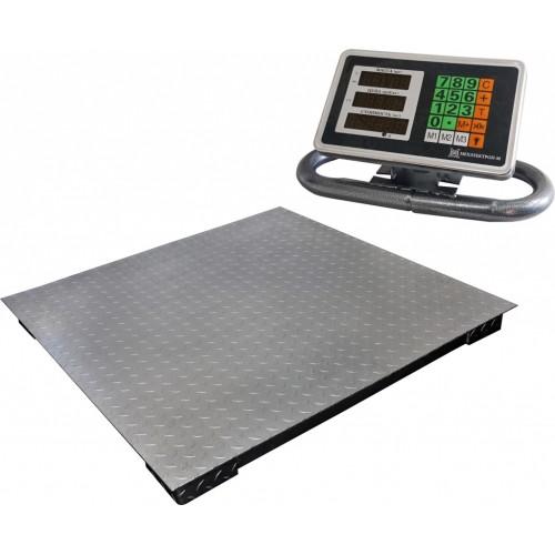 Весы торговые электронные ВЭТ-1-2000П-1С-ДБ (1м*1м) АКБ