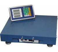 Весы торговые электронные ВЭТ-150-20/50-1С-РАБ (420*520) АКБ