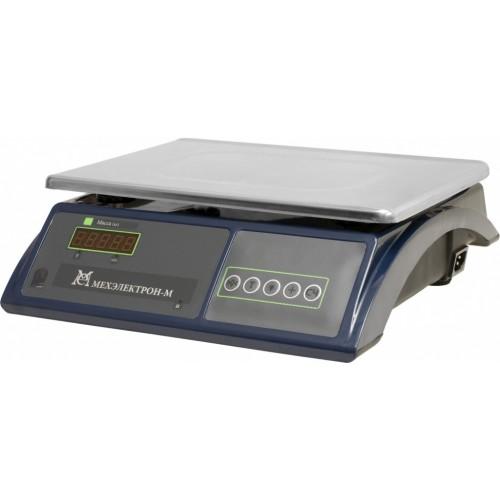 Весы торговые электронные ВЭТ-30-2/5-2С-ДБ АКБ