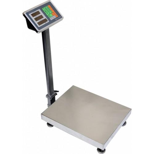 Весы торговые электронные ВЭТ-300-50/100-1С-ДБСК (450*600) АКБ