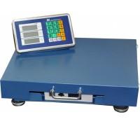Весы торговые электронные ВЭТ-300-50/100-1С-РАБ (500*600) АКБ