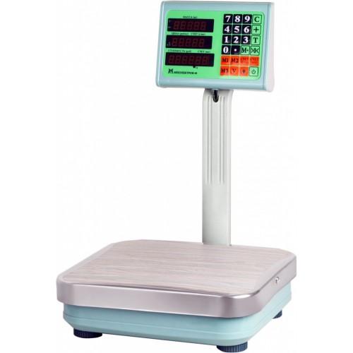 Весы торговые электронные ВЭТ-60-10-3С-ТДБ АКБ