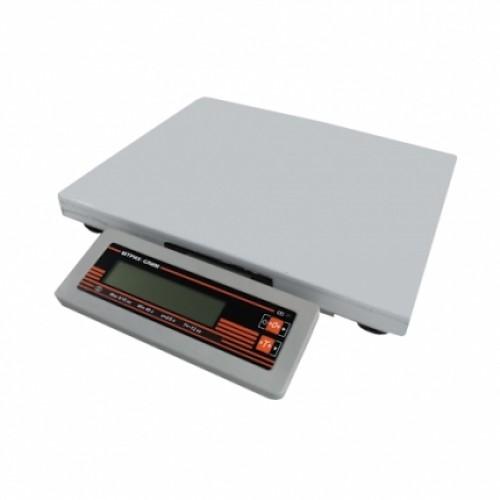 Весы порционные электронные Штрих-СЛИМ 200 15-2,5 ДП1 РЮ (ДП1 POS RS232 USB) без АКБ