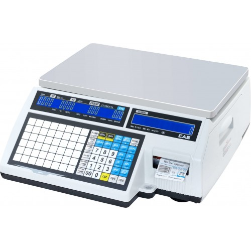 Весы с печатью этикеток CAS CL5000J-30IB