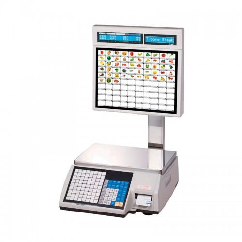 Весы с печатью этикеток CAS CL5000J-30IS