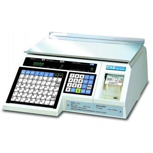 Весы торговые электронные CAS LP-15 (V 1.6)