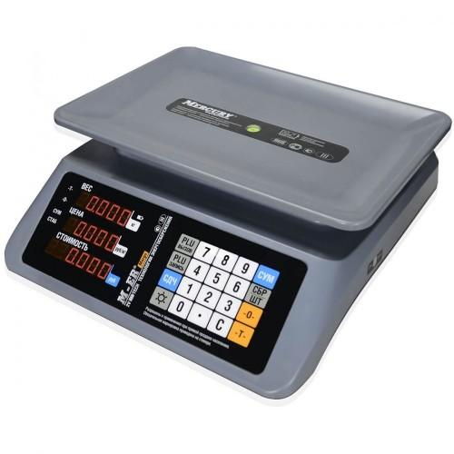 """Весы торговые электронные M-ER 321 AC-15.2 """"MARGO"""" LED"""