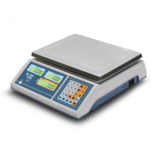 "Весы торговые электронные M-ER 322 AC-15.2 ""Ibby"" LCD"