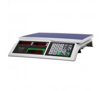 """Весы торговые электронные M-ER 326 AC-15.2 """"Slim"""" LED Белые"""