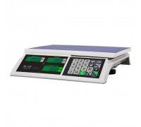 """Весы торговые электронные M-ER 326 AC-32.5 """"Slim"""" LCD Белые"""