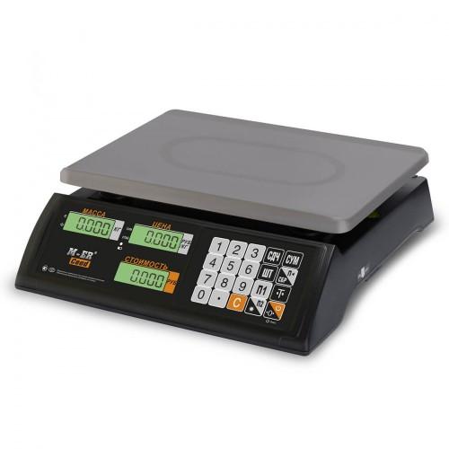 """Весы торговые электронные M-ER 327 AC-15.2 """"Ceed"""" LCD Черные"""
