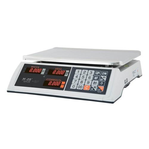 """Весы торговые электронные M-ER 327 AC-15.2 """"Ceed"""" LED Белые"""
