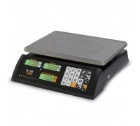 """Весы торговые электронные M-ER 327 AC-32.5 """"Ceed"""" LCD Черные"""