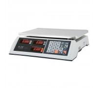 """Весы торговые электронные M-ER 327 AC-32.5 """"Ceed"""" LED Белые"""