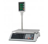 """Весы торговые электронные M-ER 327 ACP-15.2 """"Ceed"""" LCD Белые"""