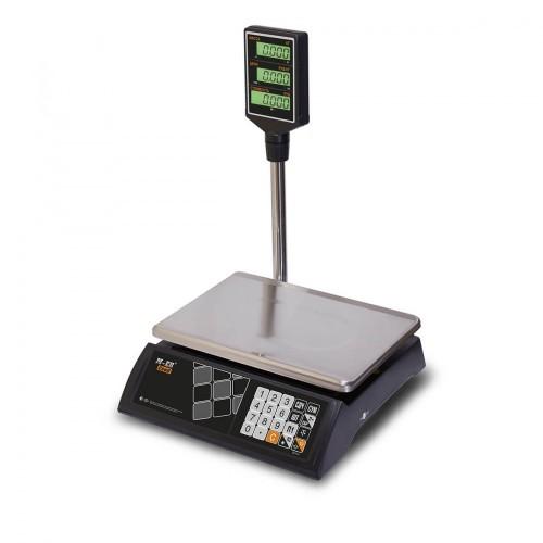 """Весы торговые электронные M-ER 327 ACP-15.2 """"Ceed"""" LCD Черные"""