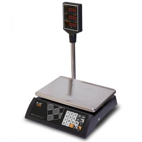 """Весы торговые электронные M-ER 327 ACP-15.2 """"Ceed"""" LED Черные"""