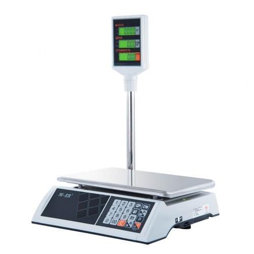 """Весы торговые электронные M-ER 327 ACP-32.5 """"Ceed"""" LCD Белые"""