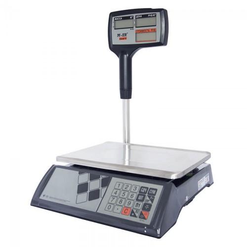 """Весы торговые электронные M-ER 327 ACPX-32.5 """"Ceed'X"""" LCD Черные"""