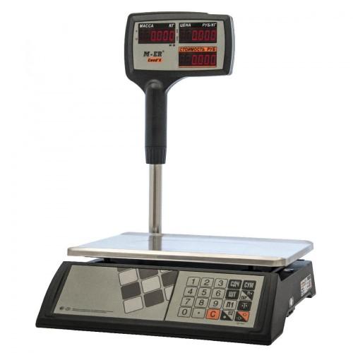 """Весы торговые электронные M-ER 327 ACPX-32.5 """"Ceed'X"""" LED Черные"""