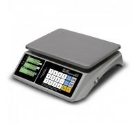 """Весы торговые электронные M-ER 328 AC-15.2 """"TOUCH-M"""" LCD RS232 и USB"""