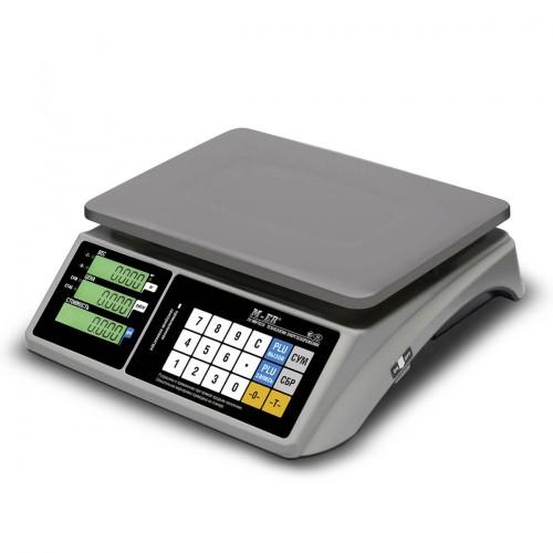 "Весы торговые электронные M-ER 328 AC-32.5 ""TOUCH-M"" LCD RS232"