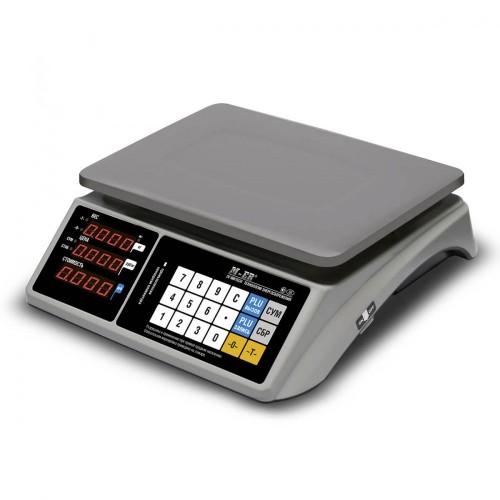 """Весы торговые электронные M-ER 328 AC-32.5 """"TOUCH-M"""" LED RS232 и USB"""