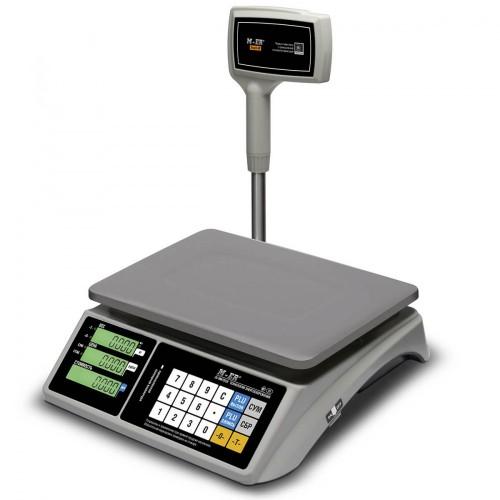 "Весы торговые электронные M-ER 328 ACPX-15.2 ""TOUCH-M"" LCD RS232 и USB"