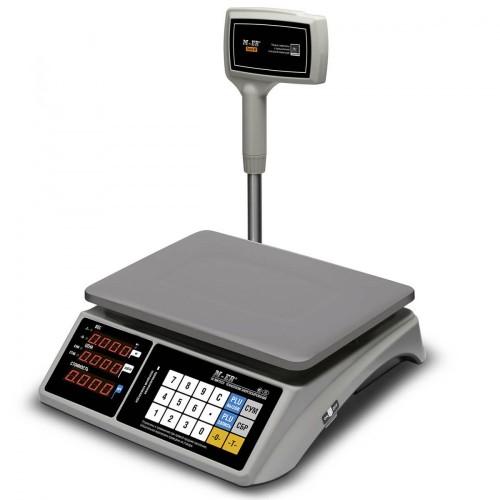 """Весы торговые электронные M-ER 328 ACPX-15.2 """"TOUCH-M"""" LED RS232 и USB"""