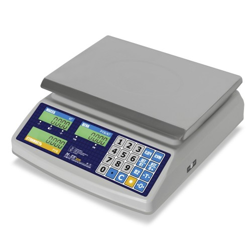 """Весы торговые электронные M-ER 329 AC-15.2 IP68 """"Fisher"""" LСD"""