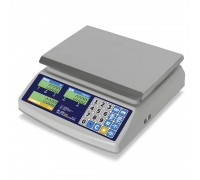 """Весы торговые электронные M-ER 329 AC-32.5 IP68 """"Fisher"""" LСD"""