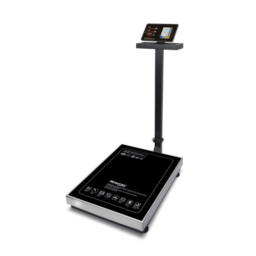 """Весы напольные товарные электронные M-ER 333 ACLP-300.50/100 """"TRADER"""" с расч. стоимости LED"""