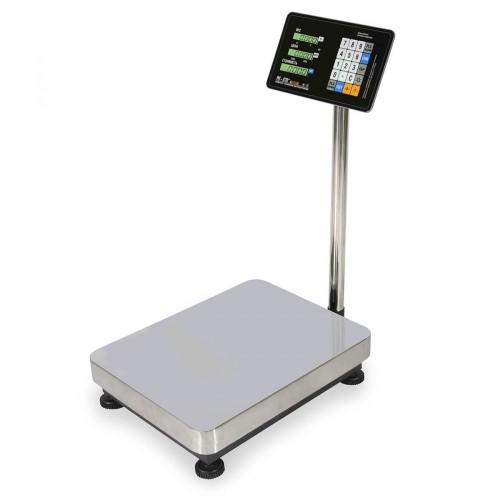 """Весы напольные товарные электронные M-ER 333 ACP-300.100 """"TRADER"""" с расч. стоимости LCD"""